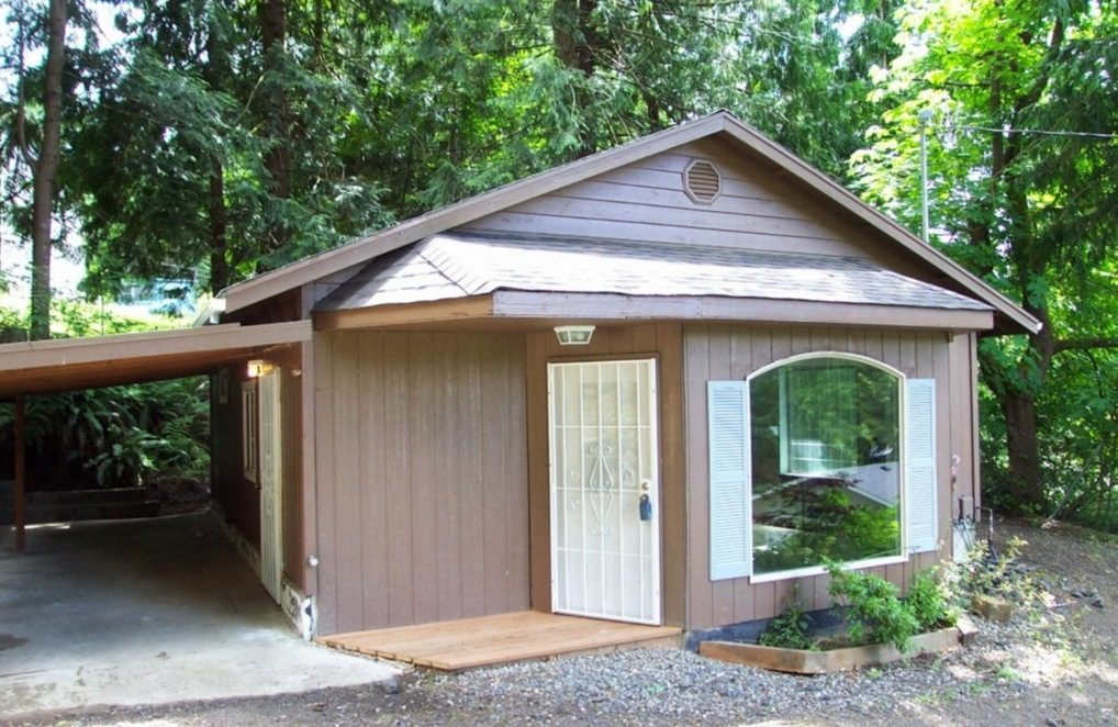 711 Sq. Ft. Small Home For Sale On .27 Acres In Olympia, WA