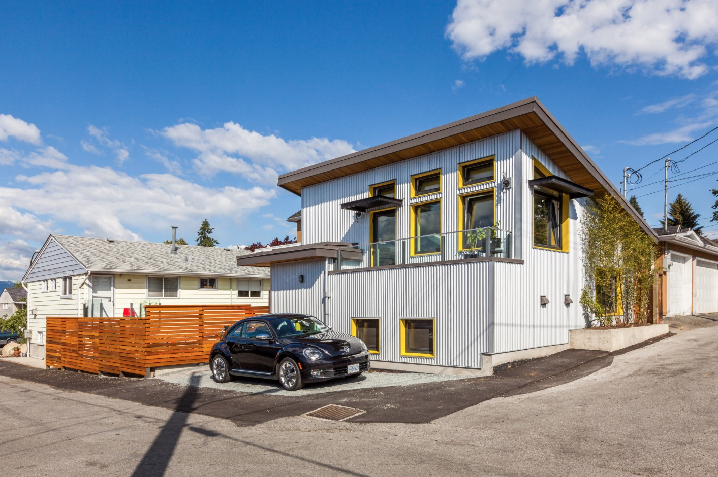 Tiny Home Designs: Custom 760 Sq. Ft. Small House Built For A Graphic Artist