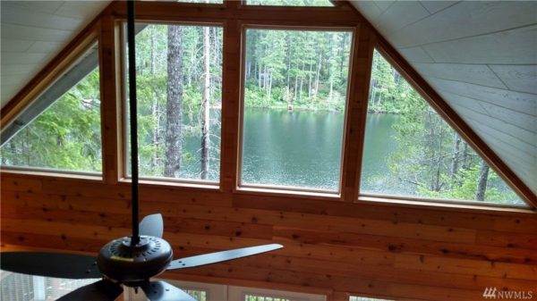 768 Sq. Ft. Waterfront A-frame Cabin For Sale in Tahuya, WA