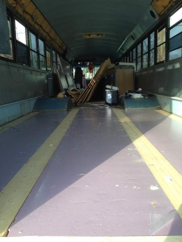 8 Students School Bus Conversion 0010