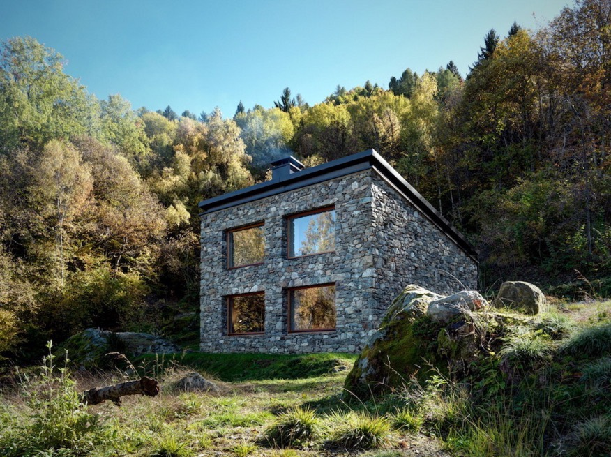 807 Sq Ft Stone Cottage