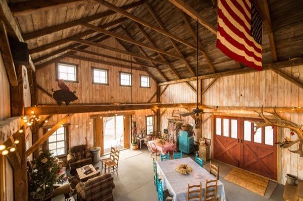 840 Sq Ft Barn To Cabin Conversion