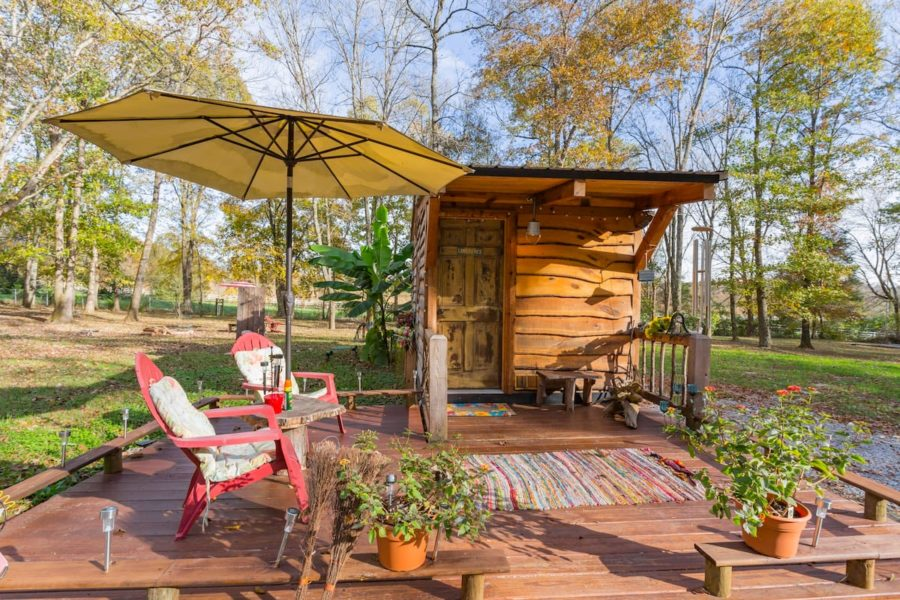 """""""Hillbilly Chic"""" Limerence Tiny House (180 sq. ft.) 1"""