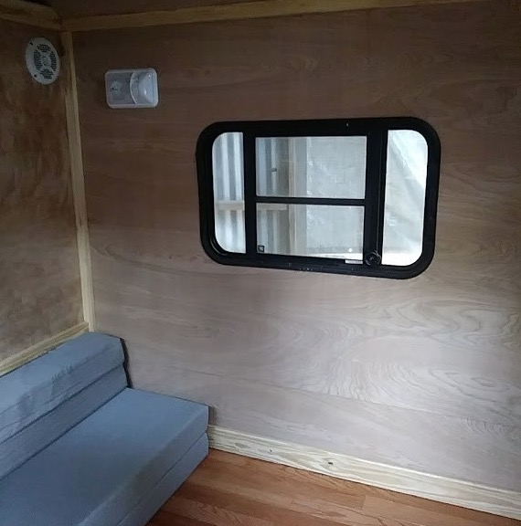 8ft Weekender Tiny House on Wheels for Camping For Sale 004