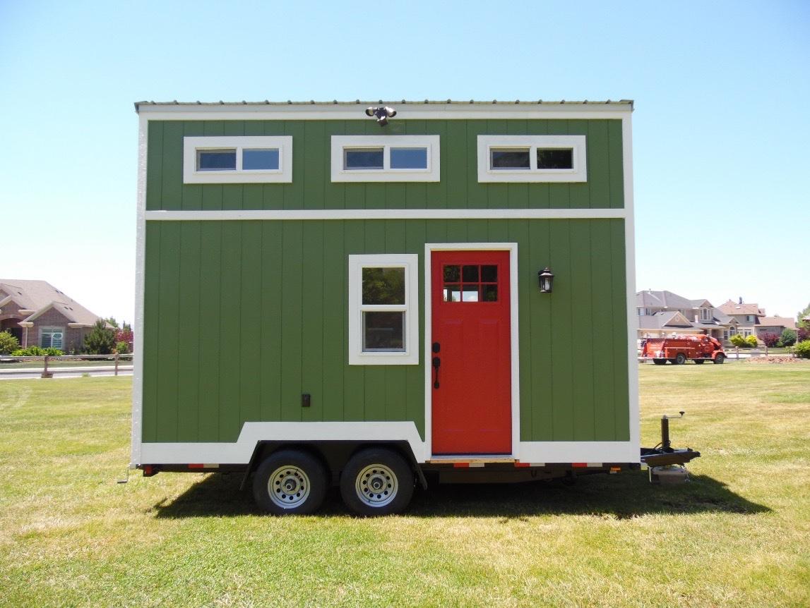 Tiny House Plans Home: 8x16 Birchwood Tiny House