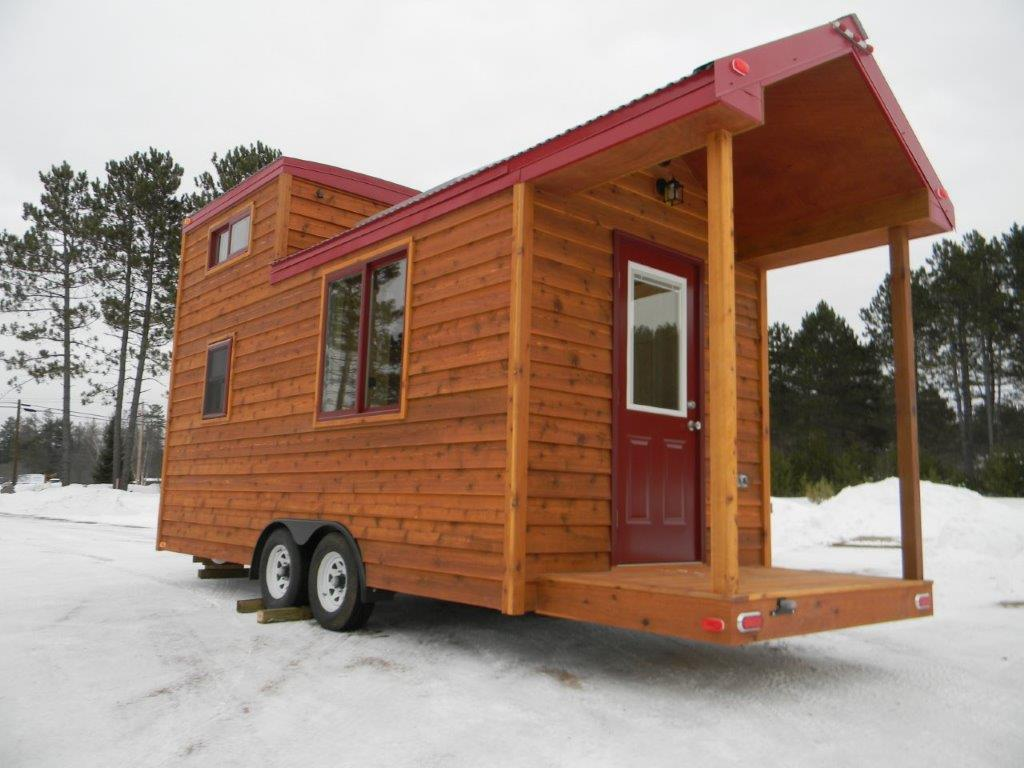 144 sq ft tiny cabin on wheels Tiny cabin