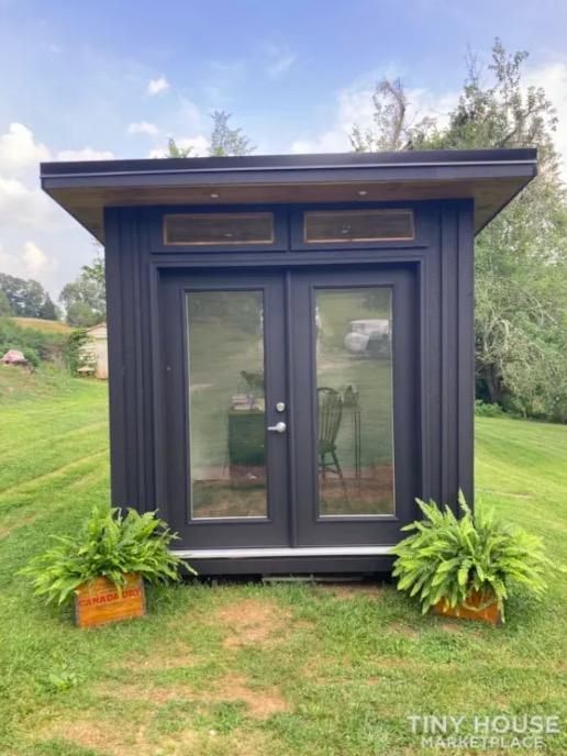 8×8 Modern Backyard Office-Cabin For Sale 001