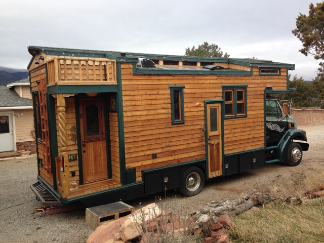 Artist Builds Custom 99 Sterling House Truck Now For Sale