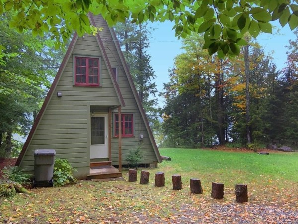 A-frame Cabin For Sale in Fort Ann 001