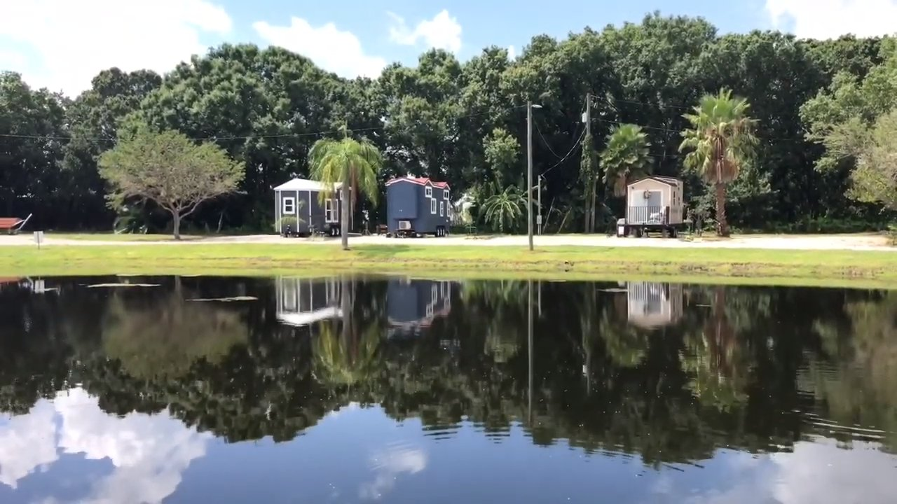 A real tiny house community in Florida...