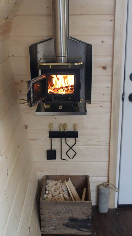 Oil Change Tools >> Acorn Micro Cabin by Forest Trek Woodwork