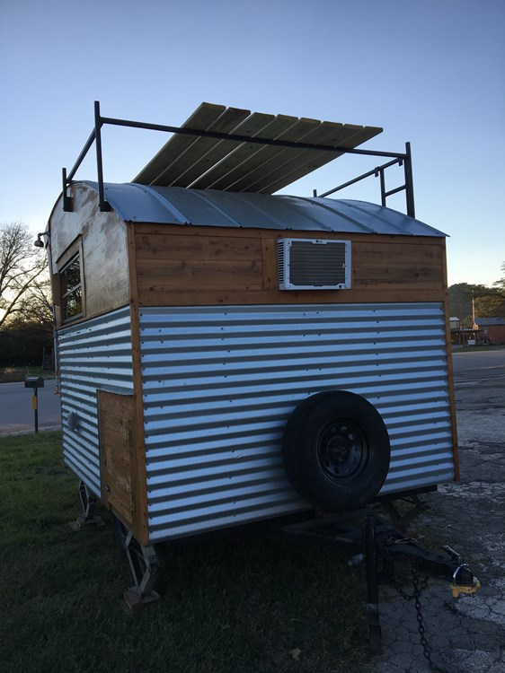 Affordable $8.5k Aero Tiny Cabin on Wheels