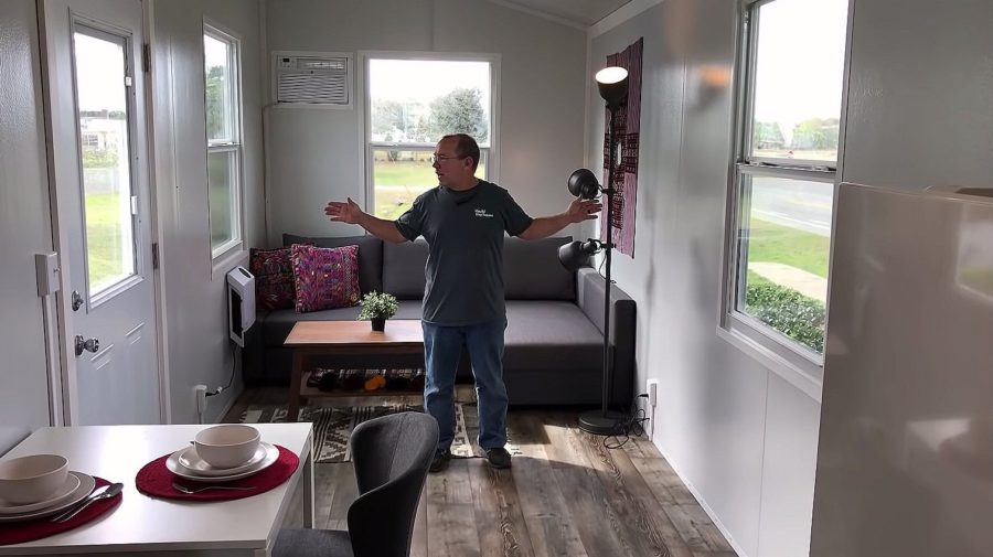 Affordable Tiny House – 34ft with Main Floor Bedroom Built by Core Housing Solutions