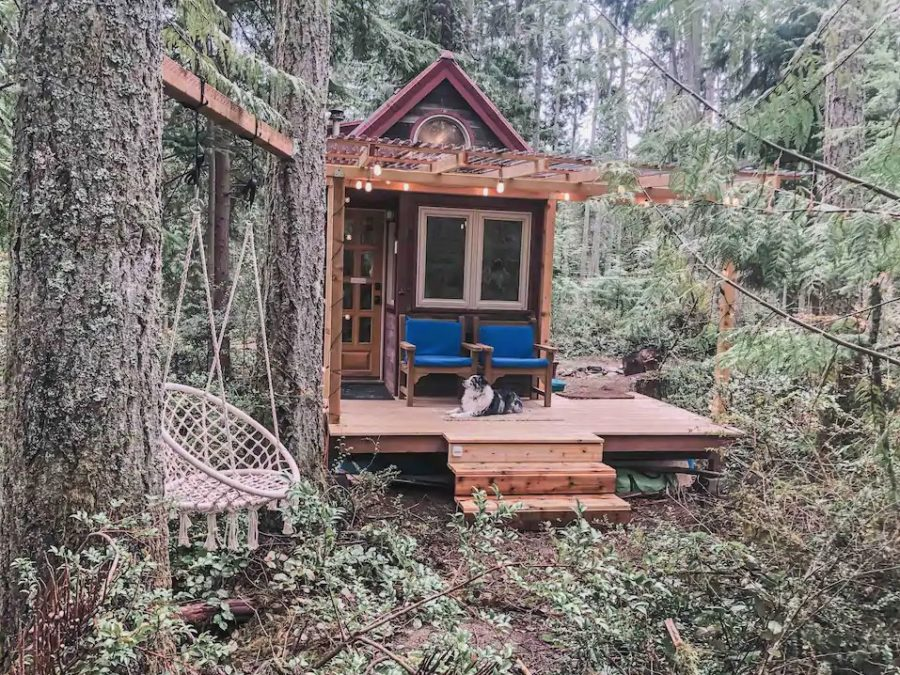 Airbnb Tiny House in the Woods via Jenna-Airbnb 001