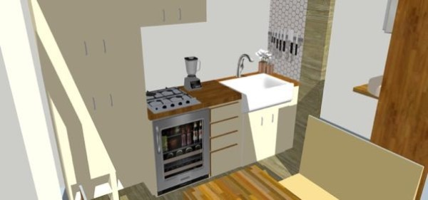 Alena Nikole 8x12 Interior Kitchen