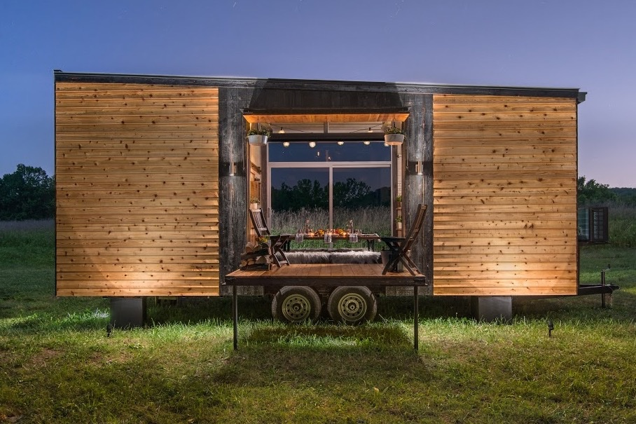 Peachy The Alpha Tiny House By New Frontier Tiny Homes Beutiful Home Inspiration Papxelindsey Bellcom
