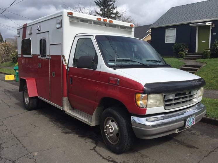 Ambulance Turned Surf Camper Motorhome By YetiBus Builds 001
