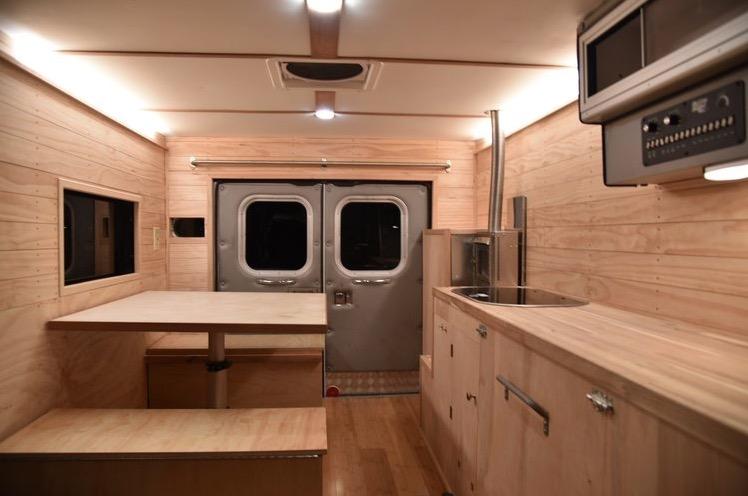 Ambulance Turned Surf Camper Motorhome By YetiBus Builds 002