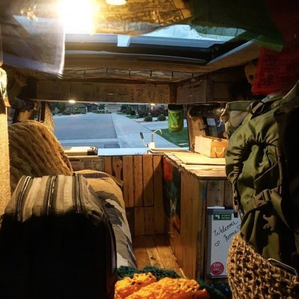 Arya the Delica Campervan Conversion 002