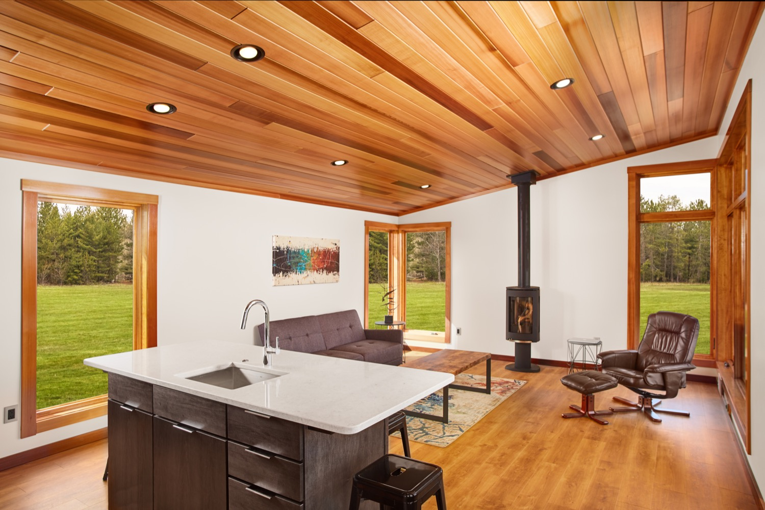 Tiny House Floor Plans Small Cabins Tiny Houses Small: 601 Sq. Ft. Aspen Small House By Dickinson Homes