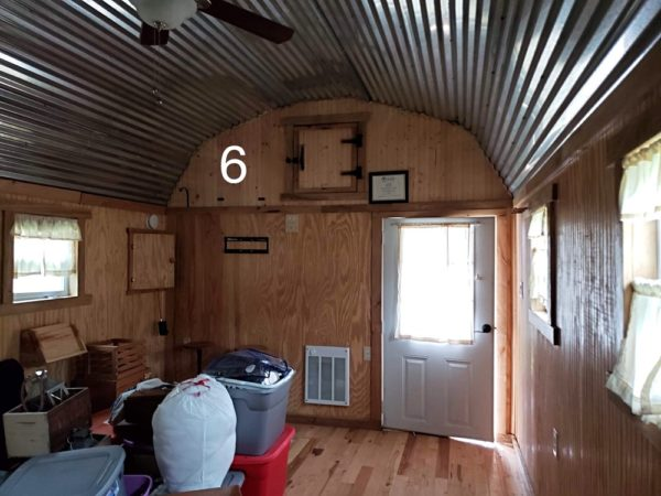 Barn Shed Converted to $15k Tiny Cabin Interior