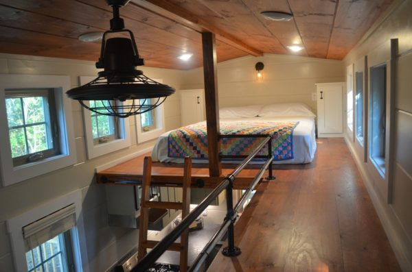 Beautiful Tiny House with Large Deck For Sale 008