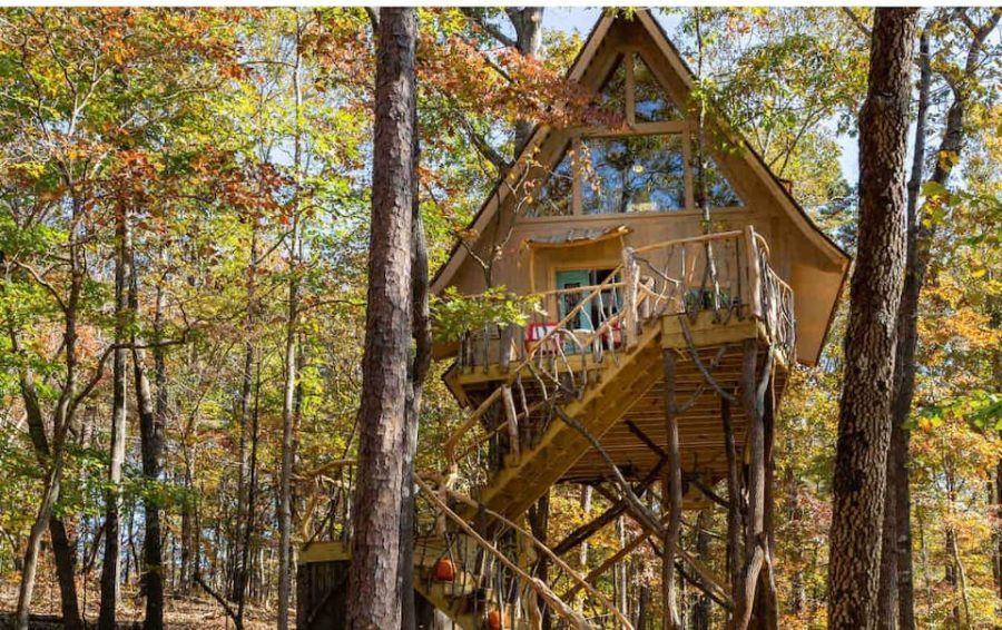 Bed+Bough Whimsical Treehouse 26