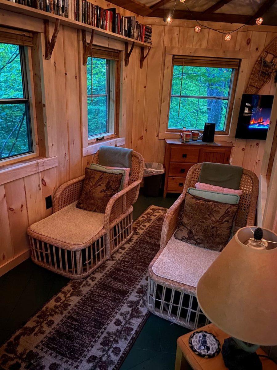 Bibliophile's Magical Yurt Treehouse 4