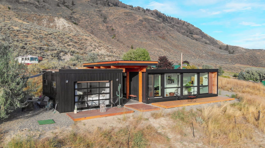 Black Box Shipping Container Home 1 – 72 dpi