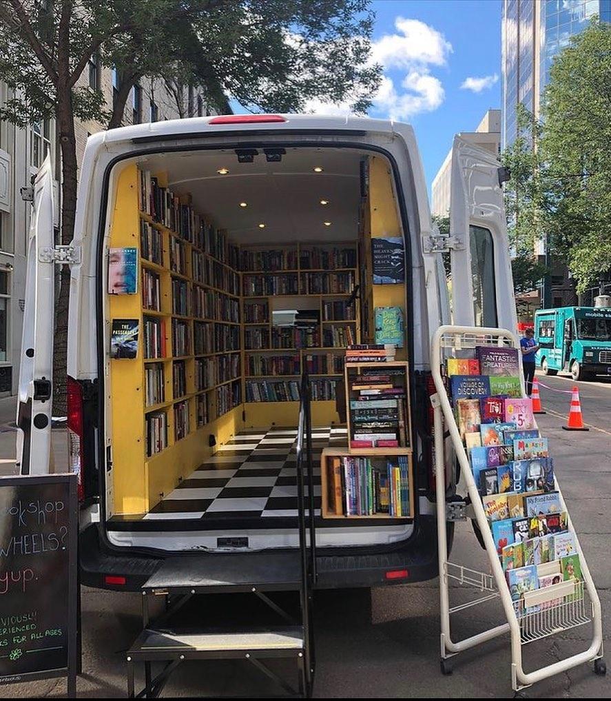 Book Shop Van Build via DaisyChainBookCo 004