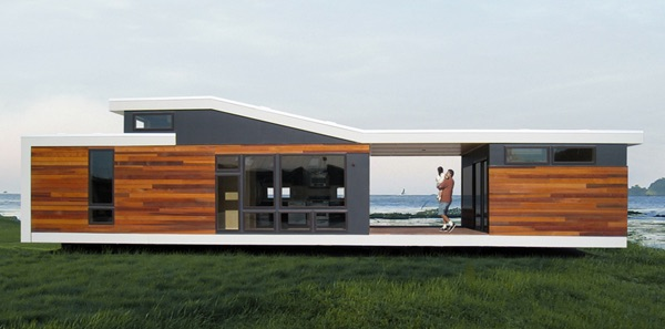 Contemporary Best Small Modern House Designs: 640 Sq. Ft. California Solo 1 Modern Prefab Tiny House