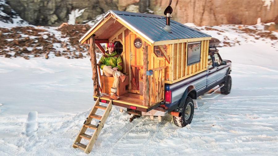 Camper Truck House Life - Exterior - Exploring Alternatives
