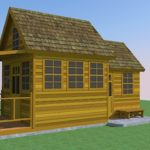 Cedar Shake Cottage with addition