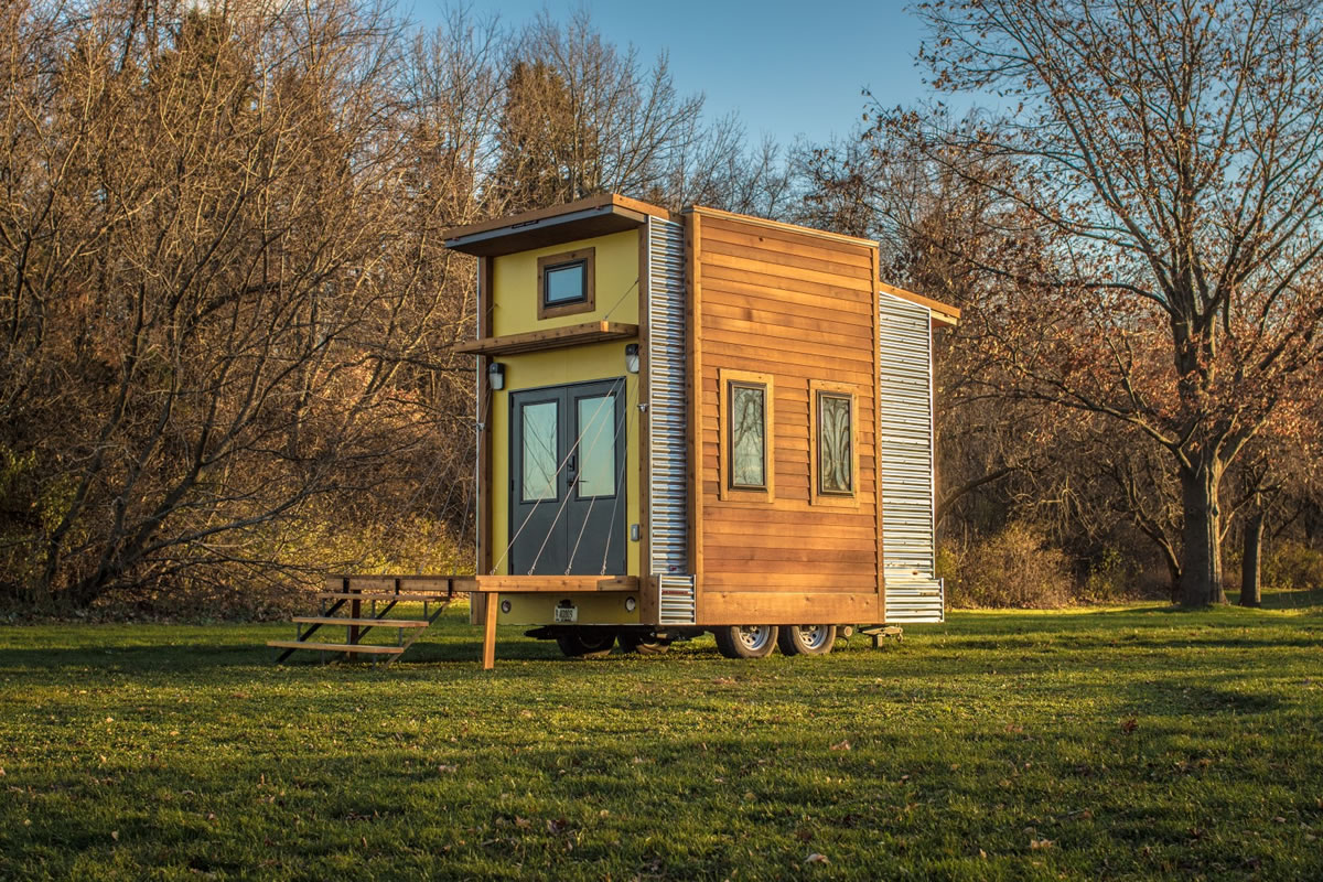 Centipede Tiny House Auction For Occupy Madison Tiny House