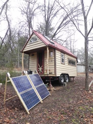 Off Grid Solar Tiny House On Wheels For Sale In Asheville Nc