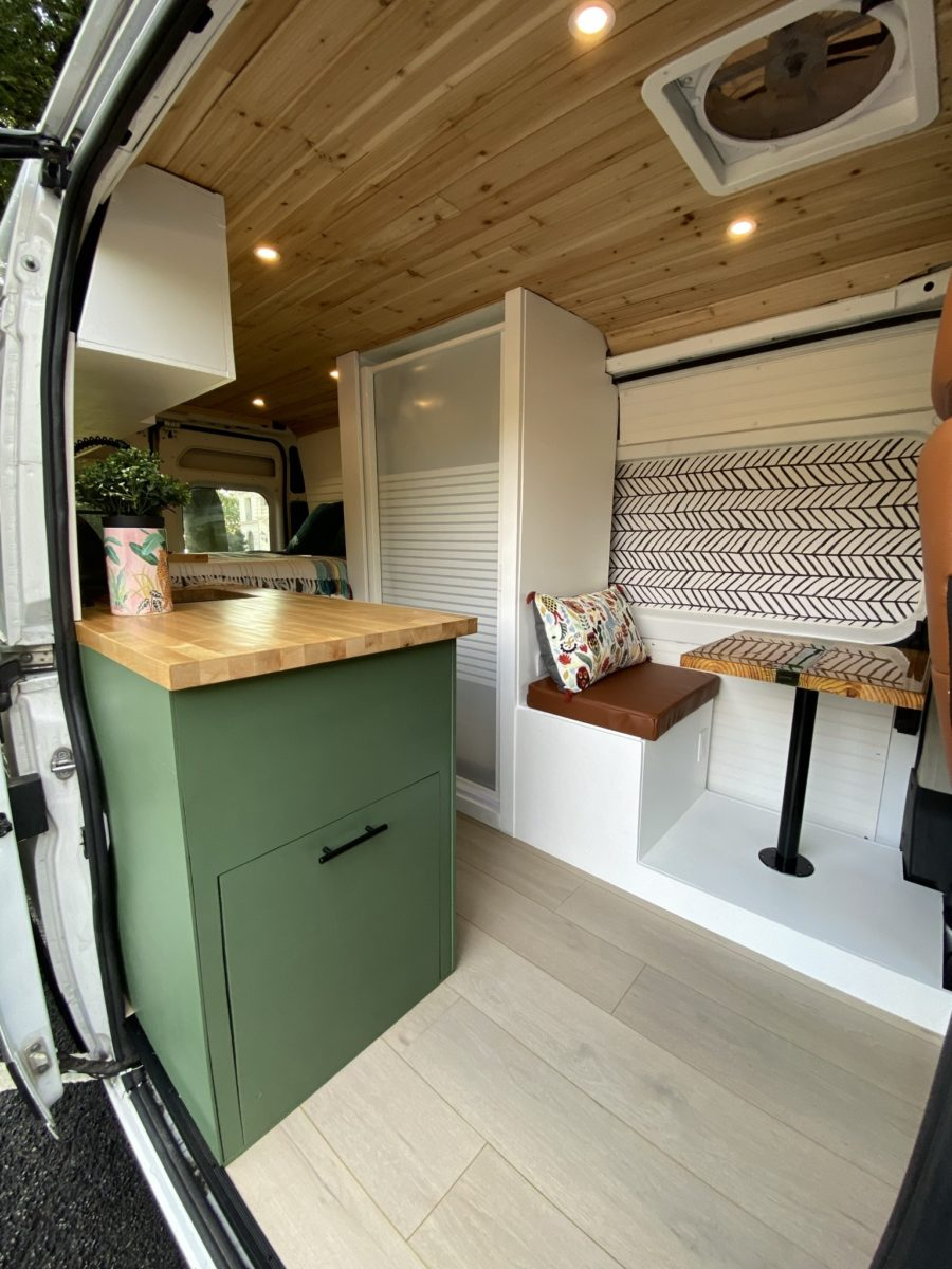 Completely Converted RAM Promaster 3500 with Full Bath 9
