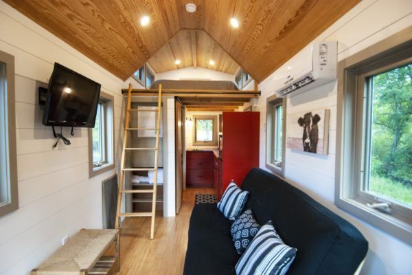 Cottage Style Tiny House by Red Crown Tiny House Company