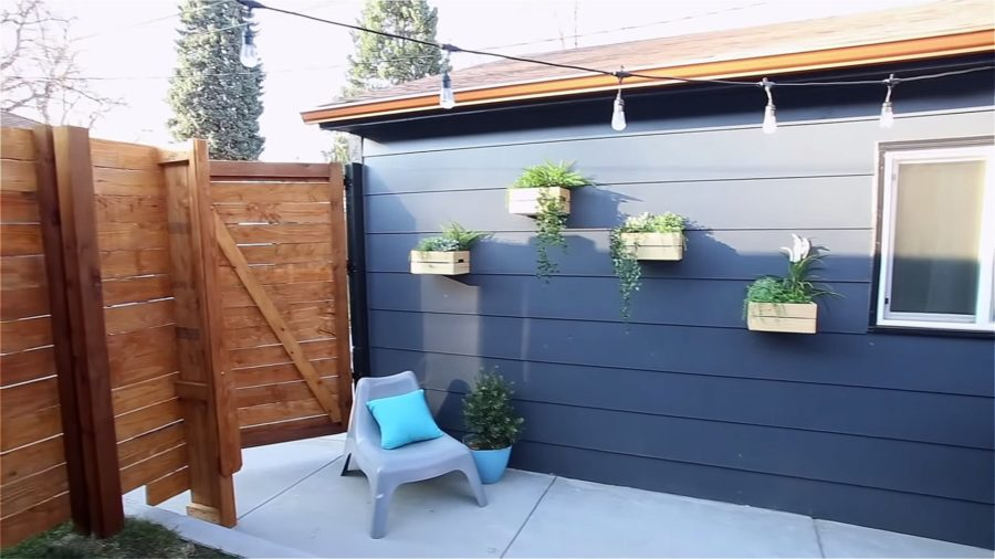 Couple Build 33-Foot Shipping Container Tiny House in their Backyard
