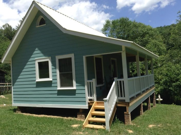 Couple Design and Build 384 Sq. Ft. Tiny Country Cottage for $25k