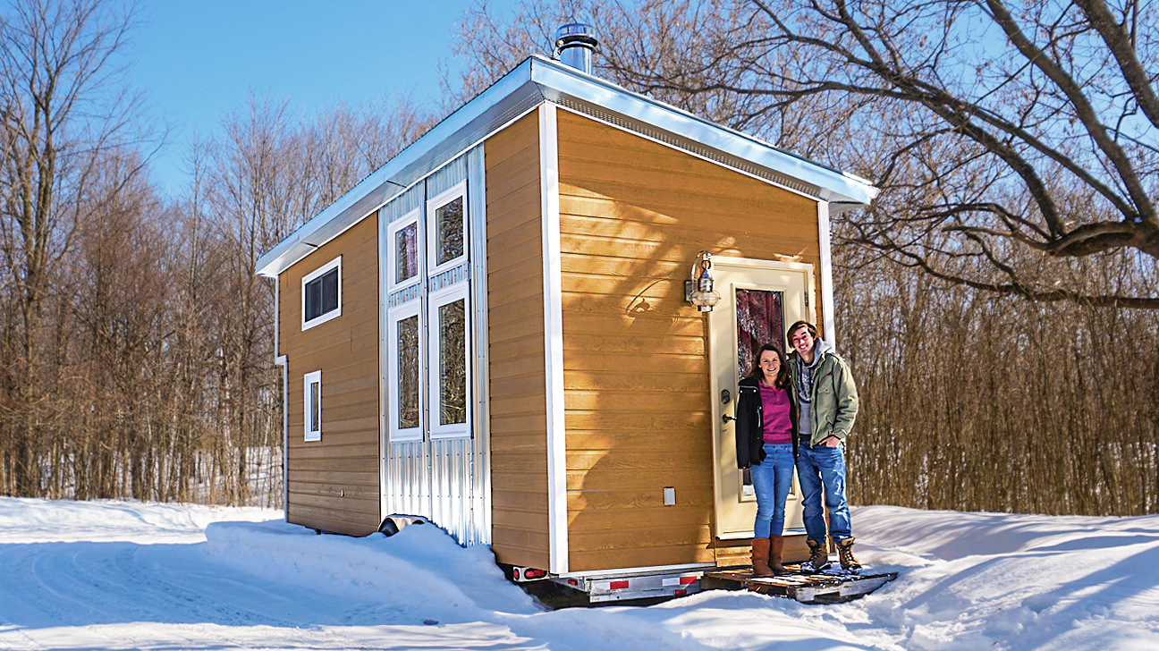 couple 39 s 3 years living fully off grid in a tiny house. Black Bedroom Furniture Sets. Home Design Ideas