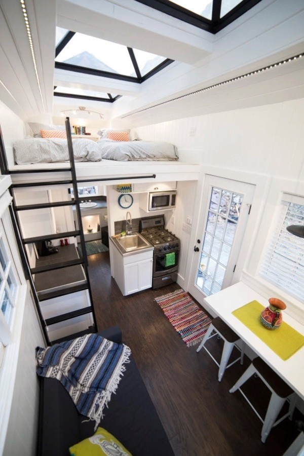 Couple's 192 Sq. Ft. Tiny House