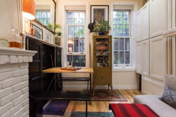 Couple's 242 Sq. Ft. Micro Apartment in NYC 006