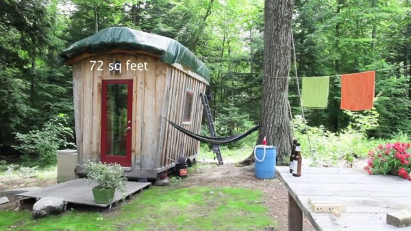 Couples 72 Sq Ft Solar Tiny Home 001