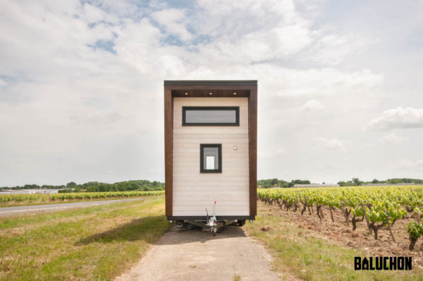 Couple's Beautiful Intrepide Tiny Home on Wheels by Baluchon in France 0029