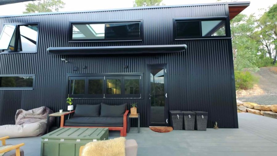Couple's Mind-blowing Tiny Home via Living Big in a Tiny House