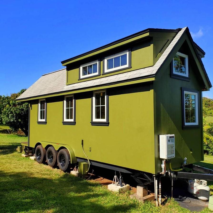 Custom 24-ft Cypress Tiny House For Sale in Maui Hawaii 0012
