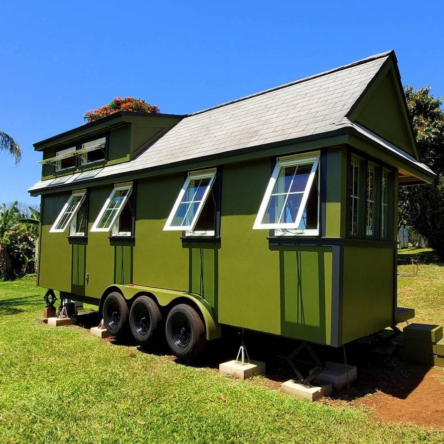 Custom 24-ft Cypress Tiny House For Sale in Maui Hawaii 002