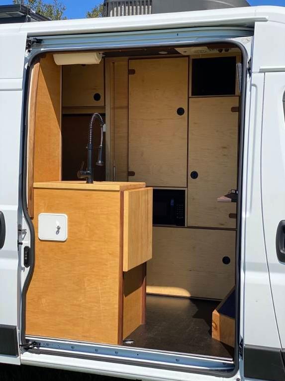 Custom ProMaster 2500 Van Conversion in Florida by vanbots 0024