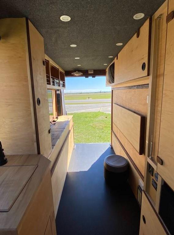 Custom ProMaster 2500 Van Conversion in Florida by vanbots 007
