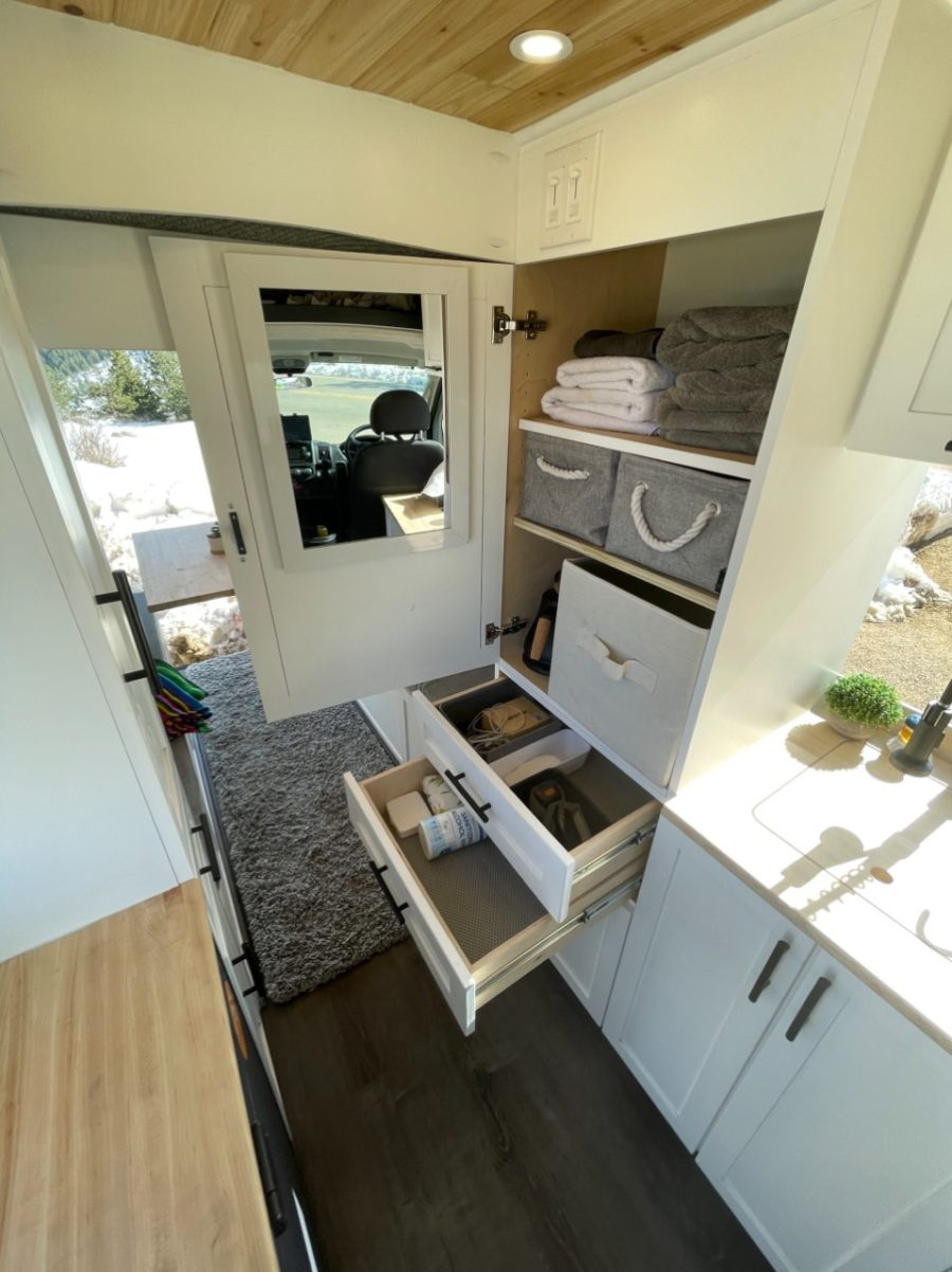 Custom ProMaster Van Conversion With Lift Bed by Mile High Vans 004